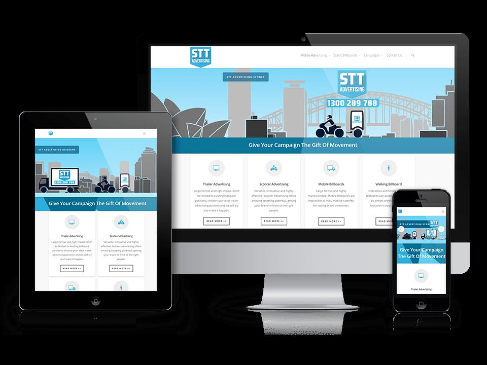 Semcore Web Design Case Study STT Advertising